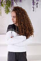 """Детский трикотажный спортивный костюм """"Dairan"""" с люрексом (2 цвета), фото 2"""