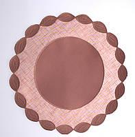 Салфетка  таракот 30*30 ободок салфетки колосок PRK