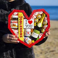 """Подарочный набор """"Red heart"""". Оригинальный подарок на День Влюблённых жене, девушке, женщине, маме, подруге."""
