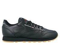 "Мужские кроссовки Reebok Classic Leather ""Black/Gum"" 49800"