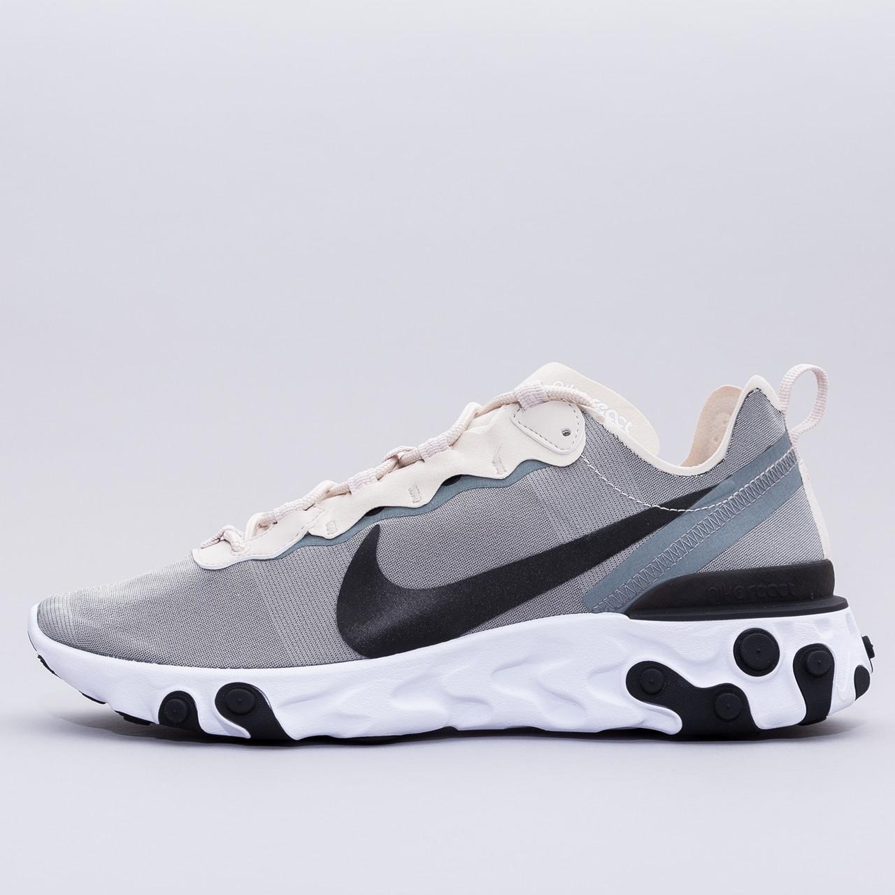 3cd06c5a Мужские кроссовки Nike React Element 55 BQ6166-100 - Parallel-Brandshop.  Оригинальная обувь