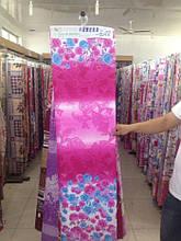 Ткань рулонами и отрезами для постельного белья и пошива одеял  (Голубые розочки)