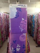 Ткань рулонами и отрезами для постельного белья и пошива одеял  (Голубой куст)