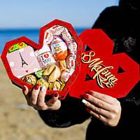 """Подарочный набор """"Red heart"""" (mini). Подарок девушке, жене, женщине, любимой, сестре, маме, подруге, бабушке."""