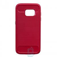 Чехол-накладка Motomo X6 Samsung S7 G930 красный