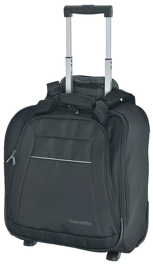 42dc2917bf02 Малый тканевый чемодан Travelite Cabin TL090239-04 28 л, серый - SUPERSUMKA  интернет магазин