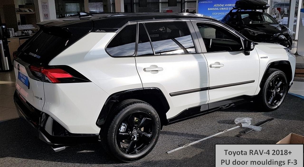f-3 Toyota RAV4 2018+ pu door mouldings