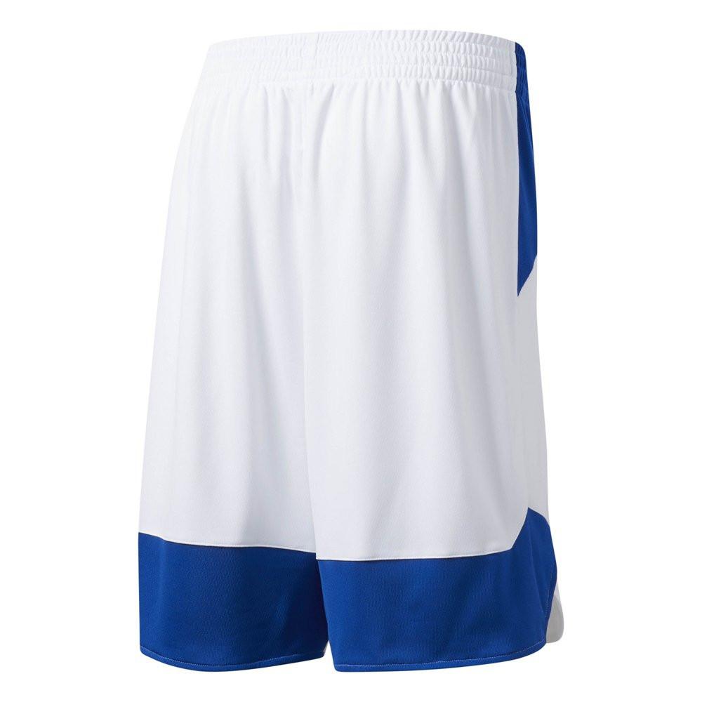 """Оригинальные Шорты Adidas Crazy Explosive Women Shorts """"White/Blue""""  BQ9181"""