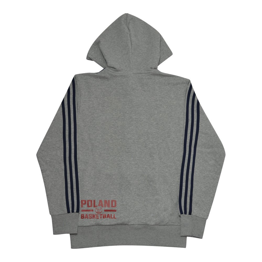 Оригинальная Кофта Adidas Essentials 3-Stripes Full-Zip Poland Basketball  S98788-pol