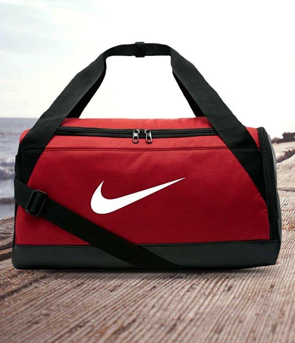 Оригинальная Сумка Nike Brasilia  Training Duffel Bag Red BA5335-657