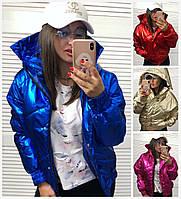 b53bf25fb6c Короткая блестящая куртка в категории куртки женские в Украине ...