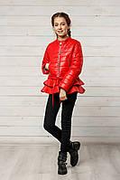 Куртка «Инесс» весенне-осенняя для девочки 8-12 лет (р. 34-42 / 128-152) ТМ MANIFIK 6 цветов