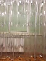 Тюль органза Zigzak Silver JH-246, фото 1