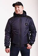 Куртка мужская весенняя от производителя   48-58 темно-синий