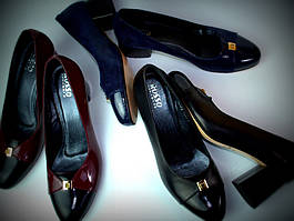 Женские туфли больших размеров Pyra V Lether by Rosso Avangard BS