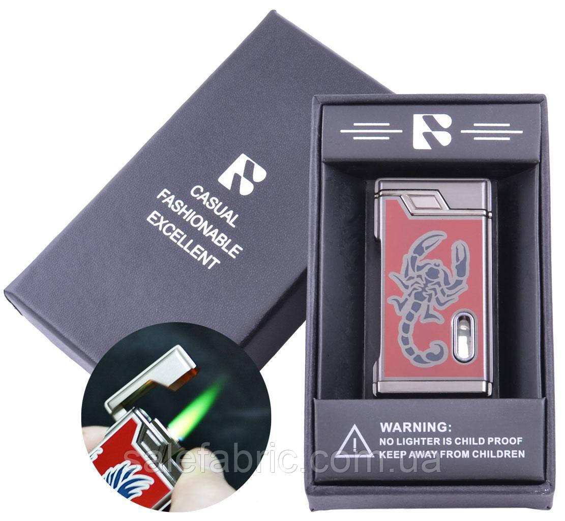 Зажигалка подарочная FANG-FANG (Турбо пламя) №3964-4