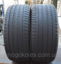Летние шины б/у 225/35 R19 Pirelli PZero, пара, 4,5 мм