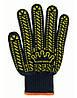 Перчатки трикотажные рабочие с ПВХ Корона