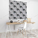 Римская штора 3D Узор. Бесплатная доставка. Любой размер до 3,5х3,5м. Гарантия. Арт. 15-03-48, фото 2