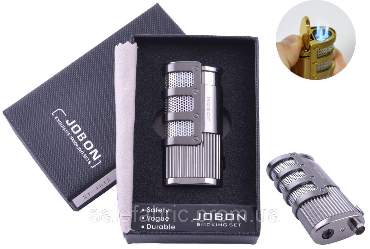 Зажигалка подарочная Jobon (Острое пламя) №4015-3