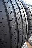 Літні шини б/у 275/45 R 20 Pirelli, комплект, 2015 р., 5 мм, фото 4