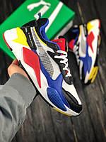 Мужские кроссовки Puma RS-X TOYS, мужские кроссовки Puma, пума рс х