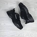 Женские кроссовки Balenciaga (Черные), фото 2