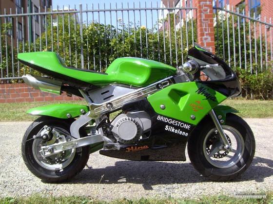 Мини спортбайк pОcket bike детский мотоцикл бензиновый: купить по HB710