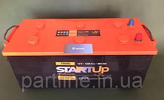 Аккумулятор Грузовой STARTUP 6СТ-190, пусковой ток 1250En, 513х217х223, гарантия 12 мес.