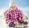 Термо-мембранний комбінезон злитий на дівчинку Lupilu 62-68 зростання на 3 сезону