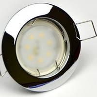 Встраиваемый светильник N101C CHR, Feron DL10 ch,gd,ab,ac