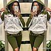 Легкая женская ветровка с капюшоном из плащевки, реплика Гуччи, норма и батал, фото 3