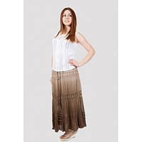 Длинная женская летняя юбка