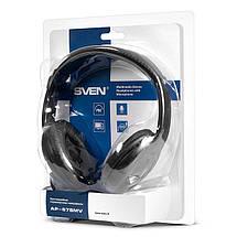Наушники с микрофоном Sven AP-675MV Black, гарнитура, фото 3