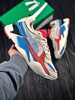 Мужские кроссовки Puma RS-X Reinvention, мужские кроссовки Puma, пума рс х, фото 1