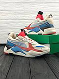 Мужские кроссовки Puma RS-X Reinvention, мужские кроссовки Puma, пума рс х, фото 4