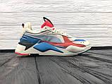 Мужские кроссовки Puma RS-X Reinvention, мужские кроссовки Puma, пума рс х, фото 6