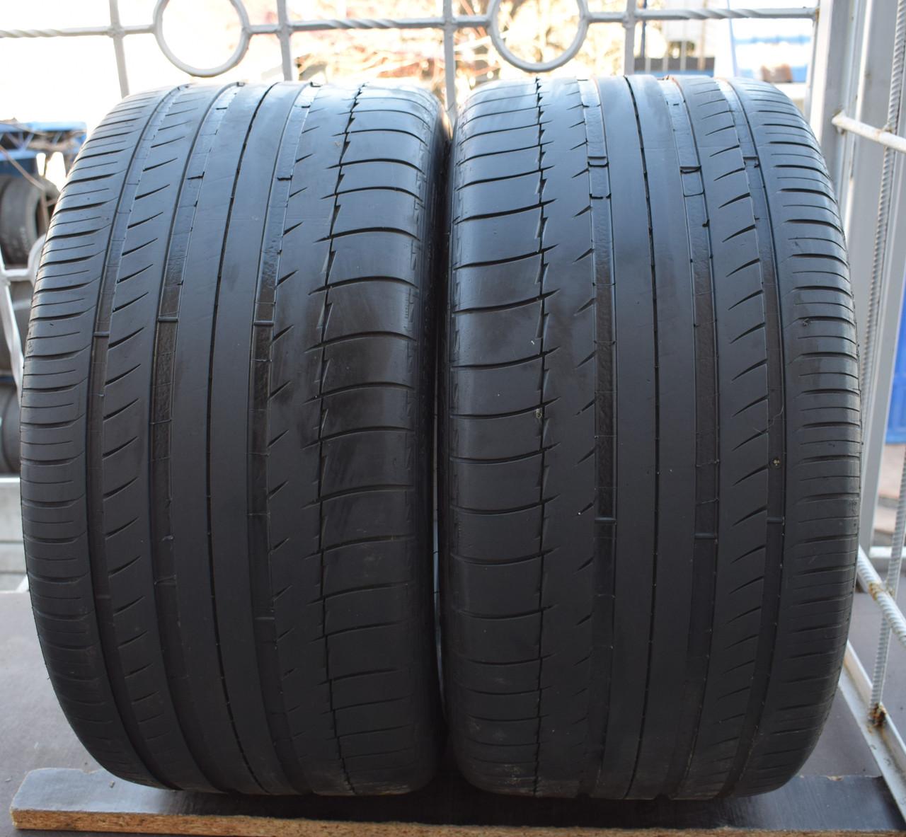 Летние шины б/у 295/35 R 20 Michelin Pilot Sport, пара, 5 мм