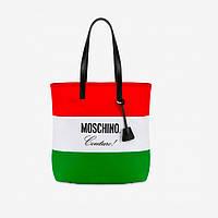 Мужская сумка Nylon Shopper Moschino Flag