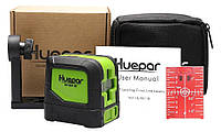 Лазерный уровень Huepar HP-9011R красные лучи, фото 1