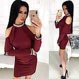 Платье / костюмная ткань / Украина 24-1216, фото 7