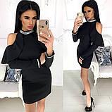 Платье / костюмная ткань / Украина 24-1216, фото 8