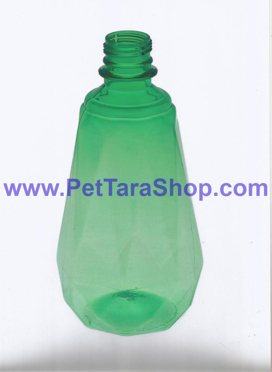 Пластиковий Флакон ПЕТ Різного кольору 500 мл з кришкою