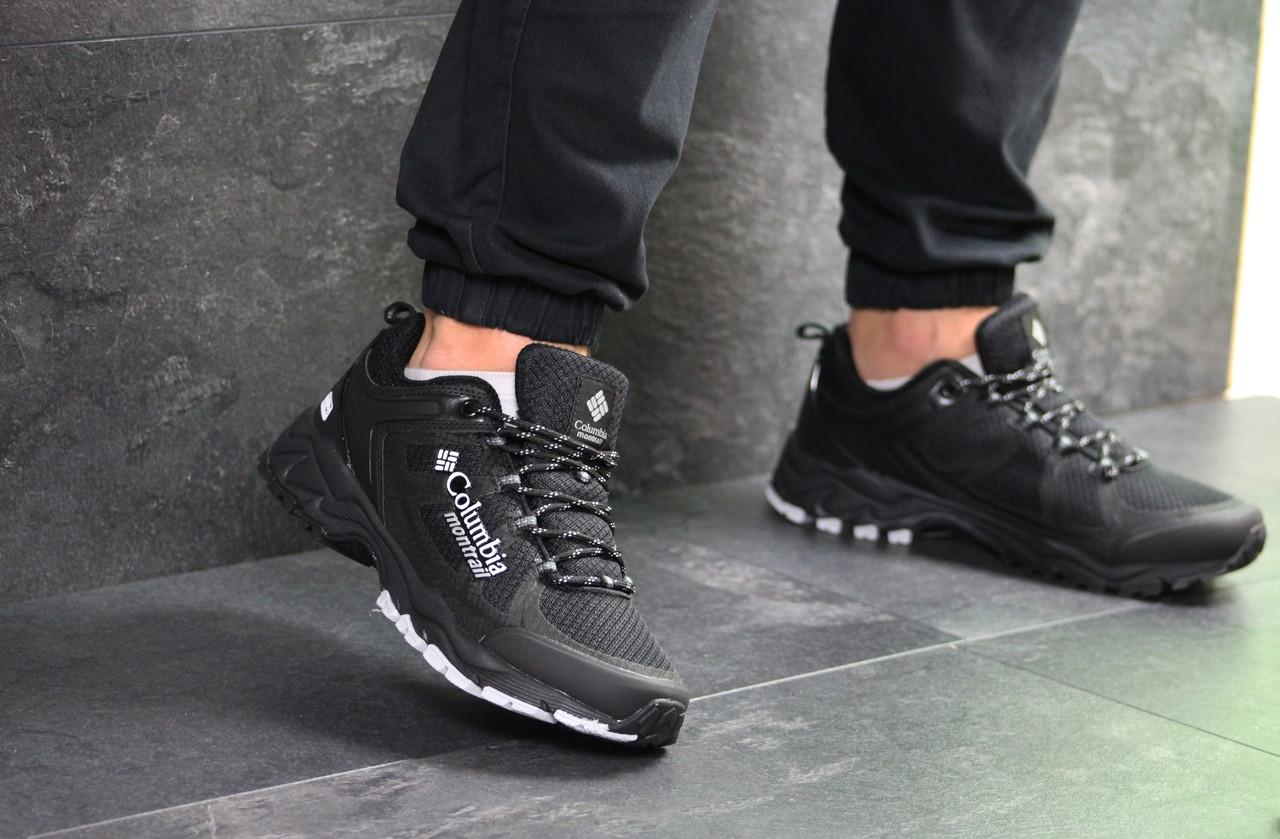 Мужские кроссовки Columbia Montrail (черные)