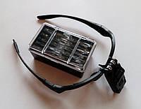 Бинокуляр очки бинокулярные со светодиодной подсветкой 9892B  , фото 1