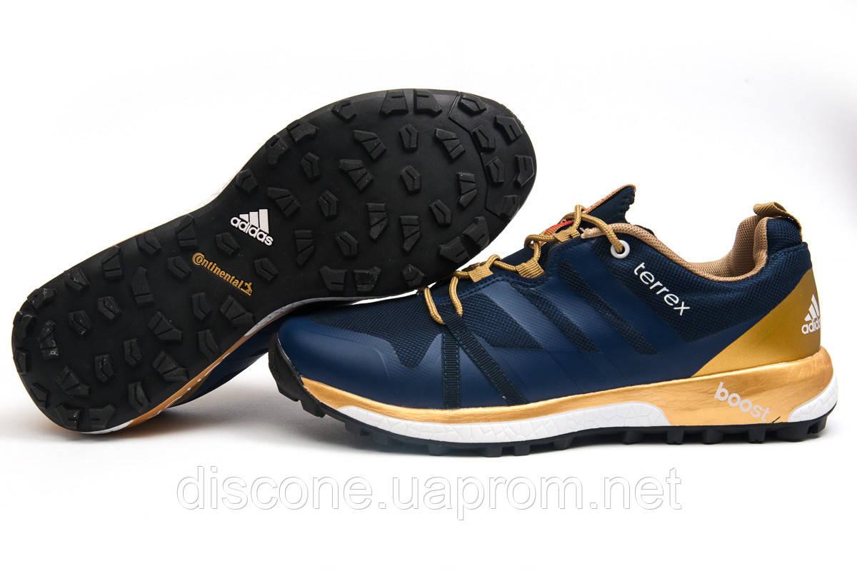 Кроссовки мужские ► Adidas Terrex Boost,  темно-синие (Код: 11662) ► [  42 43  ] ✅Скидка 35%