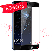 Защитное стекло Full glue 3D Huawei P10 Plus Black