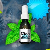NicoCleaner (НикоКлинер) - очищающий спрей для легких от табачного дыма, фото 1