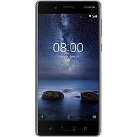 "Смартфон Nokia 8 4/64, 5.3"" AOD, 2k, Gorilla 5, Snapdragon 835, камеры 13+13 Zeiss optics, 4k video, 3090 мАч Silver - серебро"