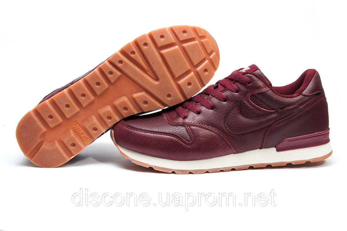 Кроссовки мужские ► Nike  MD Runner,  бордовые (Код: 11791) ► [  43 (последняя пара)  ] ✅Скидка 38%